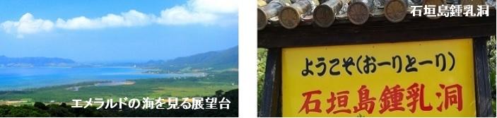 石垣島鍾乳洞へ行くバス路線の観光スポット